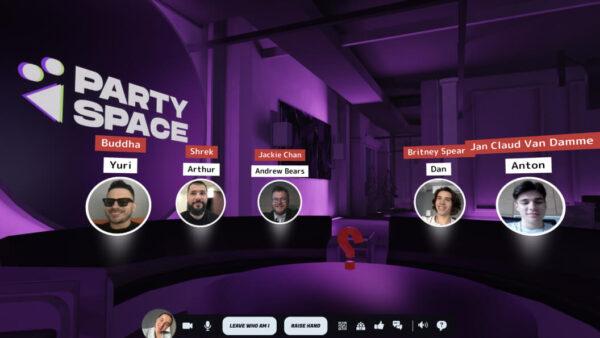 【リモートワークの救世主】オンラインでも密になれる空間を提供するParty Space